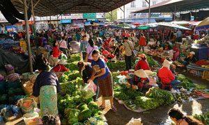 Daoheuang Market (Pakse), Champasak , Laos