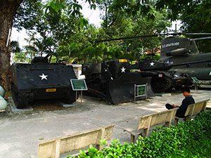 Το πολεμικό μουσείο της Σαϊγκόν (πόλη Χο Τσι Μινχ)