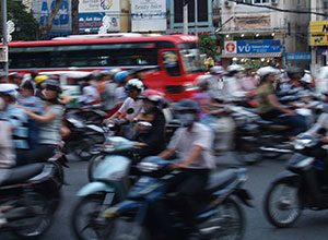 Το μποτιλιάρισμα της Σαϊγκόν