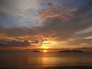 Kota Kinabalu, Borneo Malaysia sunset
