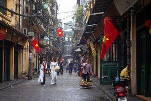 Ta Hien Street (Hanoi), Vietnam