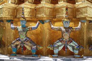 Ο ναός του σμαραγδένιου Βούδα, Βατ Πρα Καεό, Wat Phra Khaew