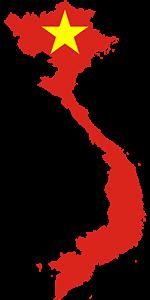 Vietnam Map, Βιετνάμ, pixabay
