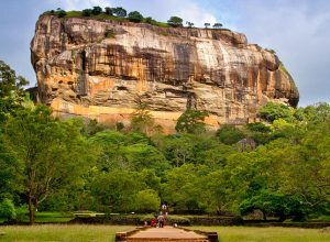 Ancient City of Sigiriya an ancient rock fortress Dambulla, Sri Lanka