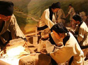 Baekje Historic Areas a group of monuments, Gongju, Buyeo & Iksan in South Korea