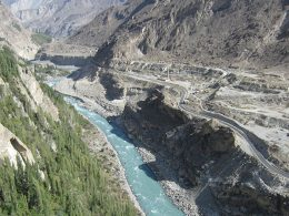 Bagrot Valley, Karakoram Mountain range in the Gilgit–Baltistan region, Pakistan