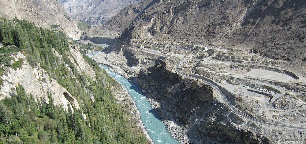 Bagrot Valley, Karakoram Mountain range in the Gilgit–Baltistan region, Pakistan