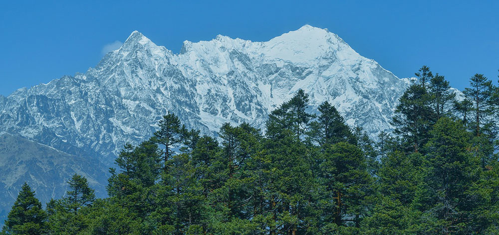 Barun (Himalayan) Valley, Mt. Makalu in Sankhuwasabha, Nepal