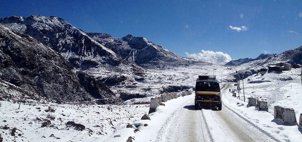 Πέρασμα Chang La, Ινδία