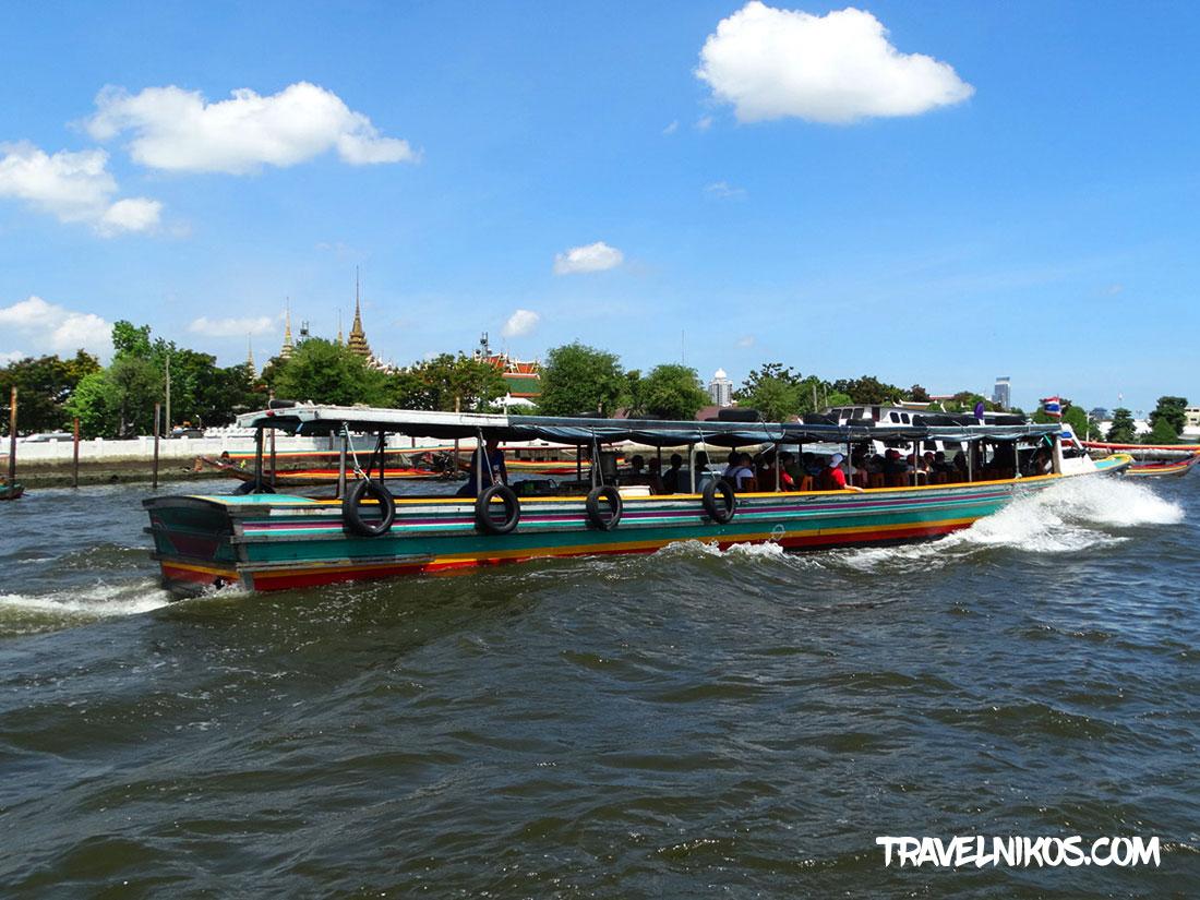 Ποταμός Τσάο Πράγια της Μπανγκόκ, Δρομολόγια και αποβάθρες