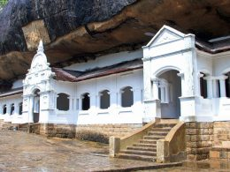 Golden Cave Temple of Dambulla, more than 80 documented caves Sri Lanka