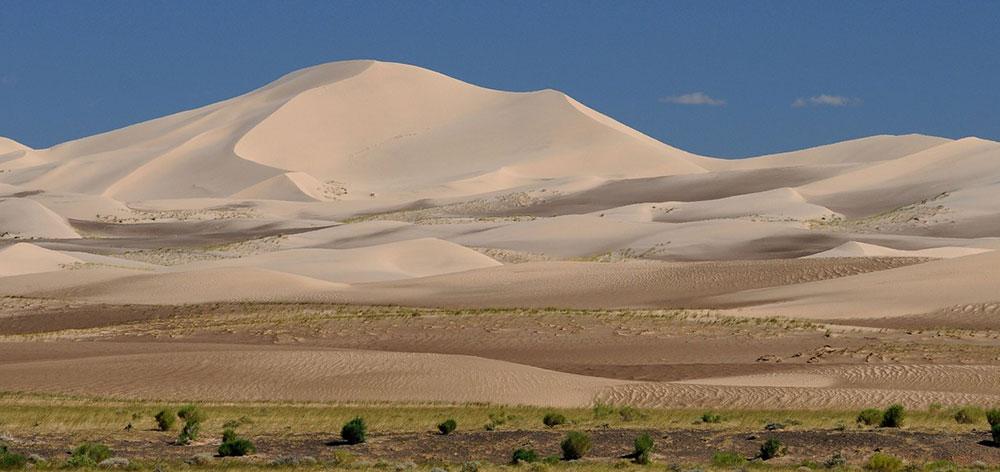 Εθνικό Πάρκο Gobi Gurvan Saikhan το μεγαλύτερο εθνικό πάρκο στη Μογγολία