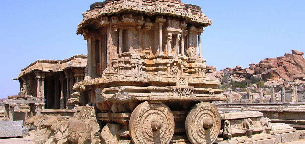 Group of Monuments at Hampi, India