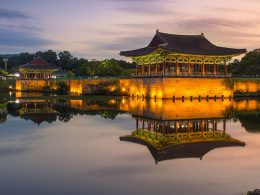 Gyeongju Historic Areas, ruins of temples and palaces in South Korea