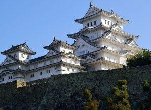 Himeji Castle, a hilltop Japanese castle complex, Himeji Japan