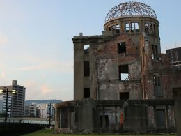 Hiroshima Peace Memorial (Genbaku Dome) Japan