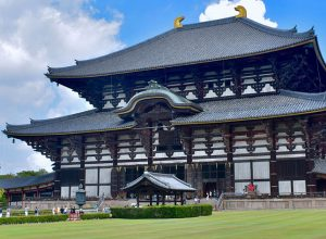 Historic Monuments of Ancient Nara Japan