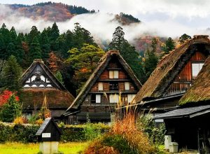 Historic Villages of Shirakawa-gō and Gokayama Japan