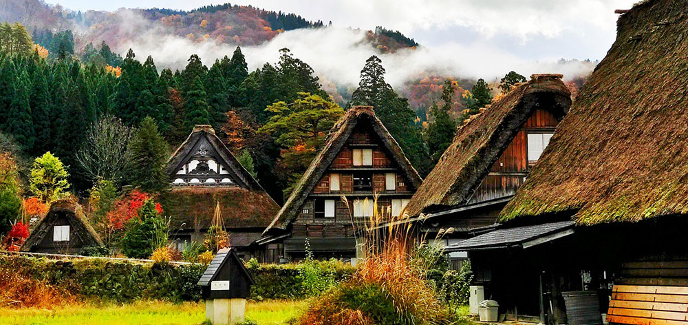 Historic Villages of Shirakawa-gō and Gokayama Japan
