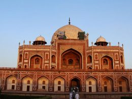 Humayun's Tomb, the tomb of the Mughal Emperor Humayun in Delhi, India