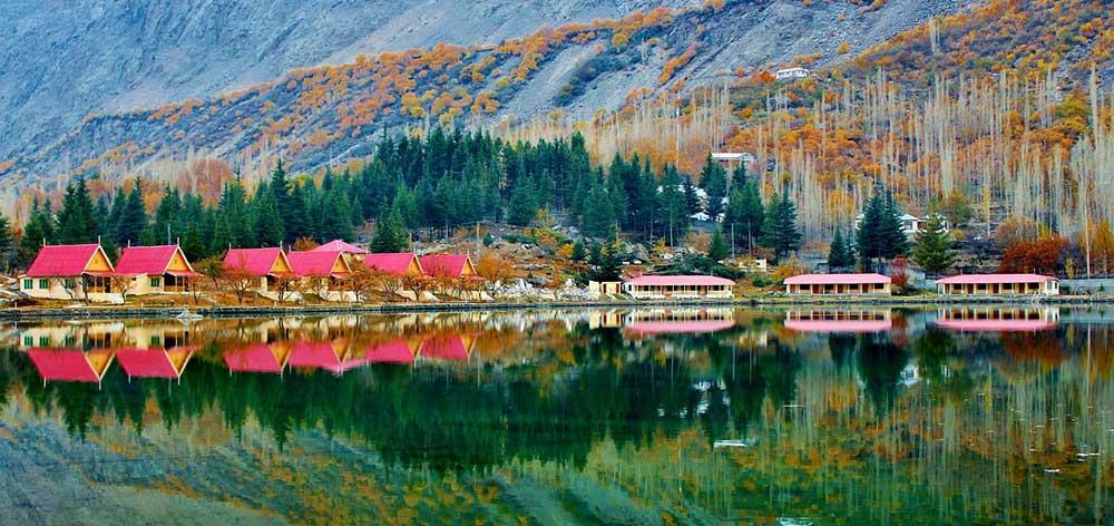 Kachura Lake, Skardu District of Gilgit-Baltistan, northern Pakistan
