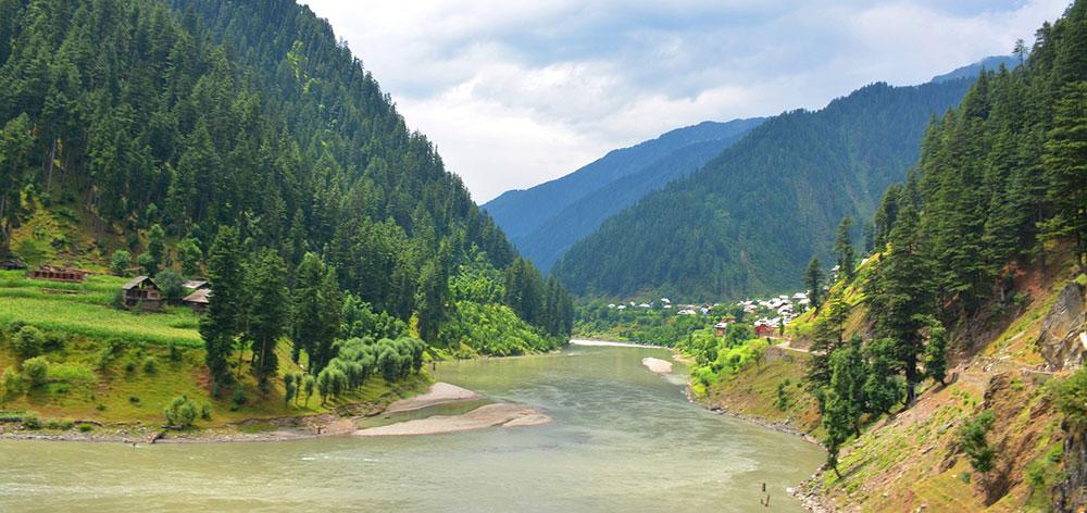 Kas Chanatar Valley, Bhimber in Azad Kashmir, Pakistan