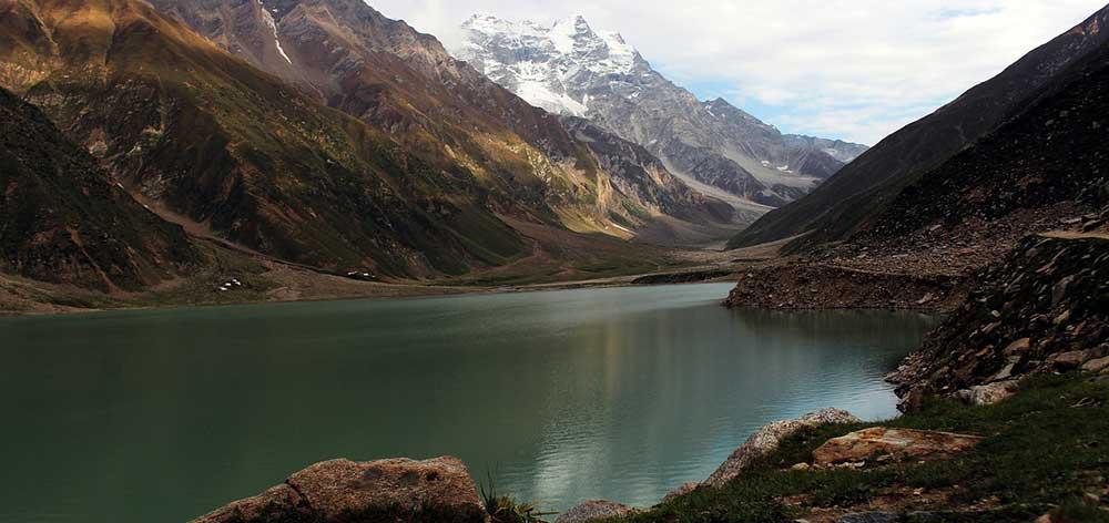 Lake Saiful Muluk, a mountainous lake in Kaghan Valley Pakistan
