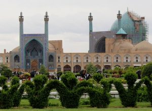 Masjed-e Jāmé of Isfahan, the grand congregational mosque, Iran