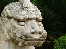 Ming Tombs, a collection of mausoleums, Ming dynasty of China