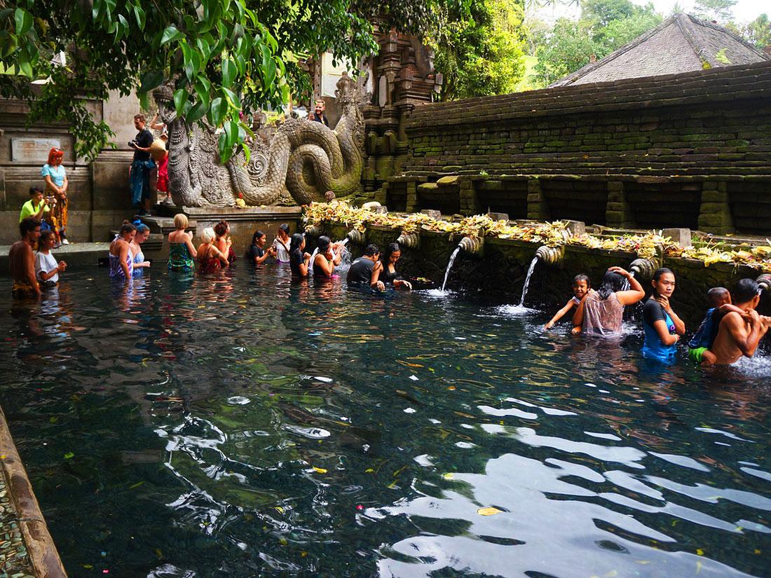 Ναός Tirta Empul στο Μπαλί