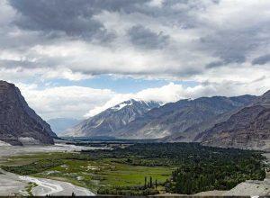 Shigar Valley in Gilgit Baltistan north of Skardu, in Northern Pakistan