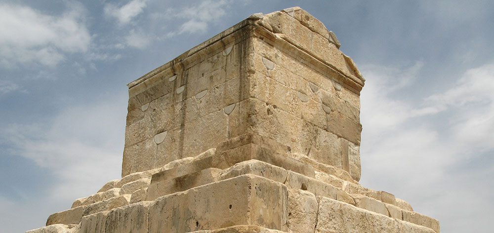 Pasargadae the capital of the Achaemenid Empire under Cyrus the Great Iran