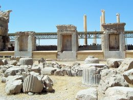 Persepolis, the ceremonial capital of the Achaemenid Empire Iran