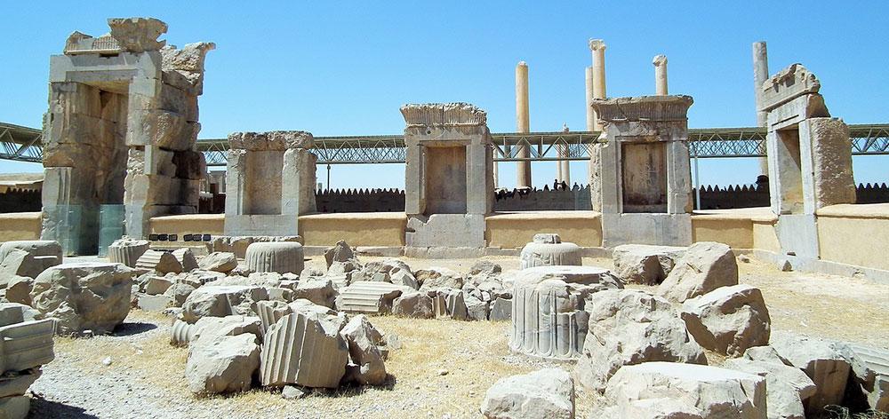 Persepolis, the ceremonial capital of the Achaemenid Empire Iran