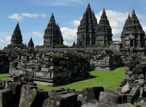 Prambanan Temple Compounds, a 9th-century Hindu temple Yogyakarta, Indonesia