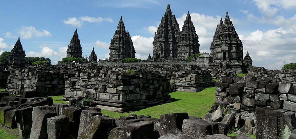 Prambanan Temple Compounds, a 9th-century Hindu temple Yogyakarta, Indonesia