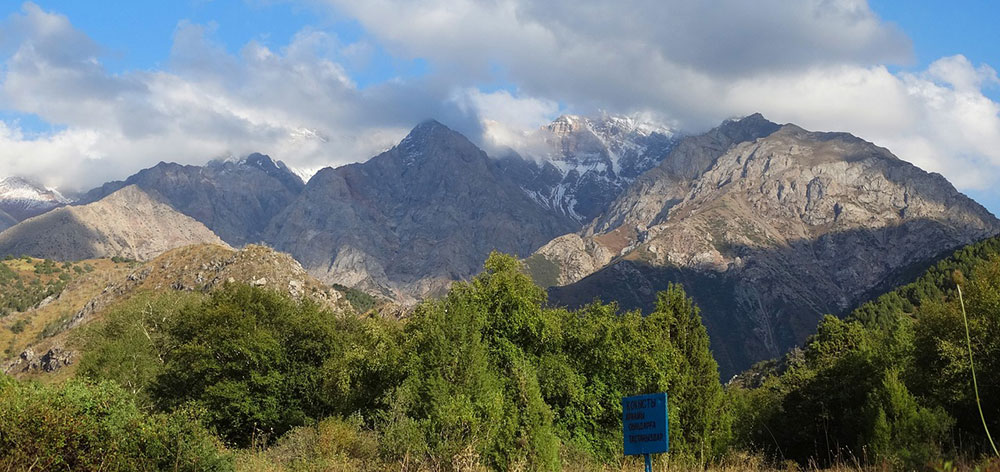 Sayram-Ugam National Park a mountainous region of the Western Tian Shan Mountains
