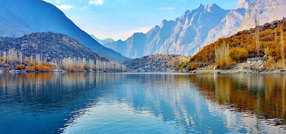 Skardu Valley, Gilgit-Baltistan, Shigar and Indus River in Pakistan