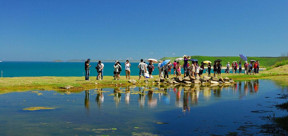 Θαλάσσιο Πάρκο Νότιο Penghu στην Ταϊβάν