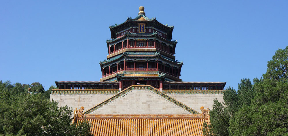 Summer Palace in Beijing, Qing Dynasty in China