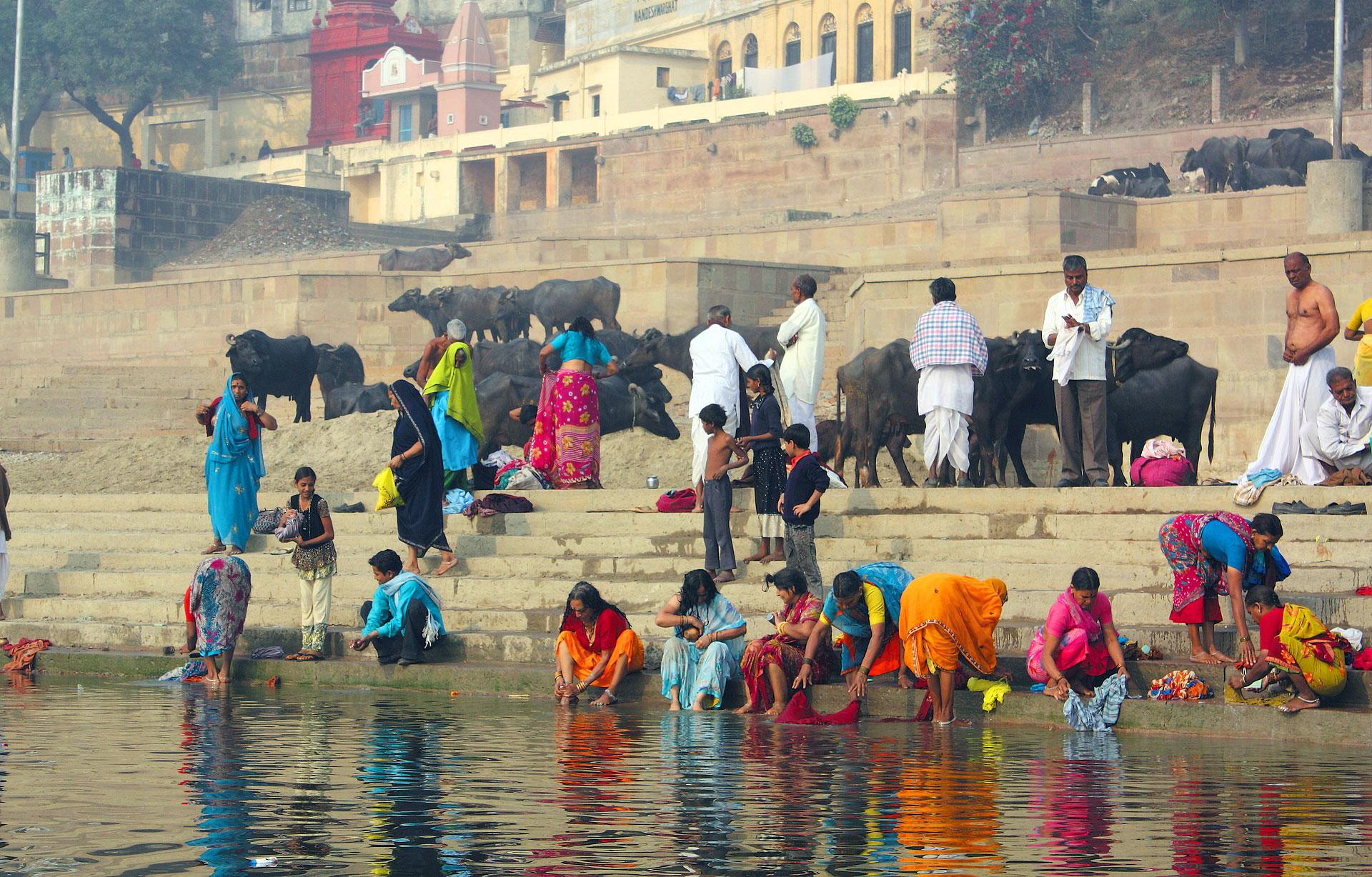Βαρανάσι η πνευματική πρωτεύουσα της Ινδίας