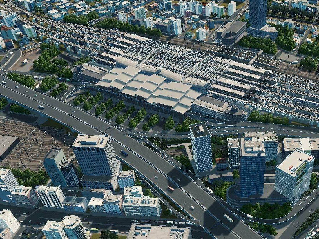 Ο καινούργιος σιδηροδρομικός σταθμός Bang Sue της Μπανγκόκ
