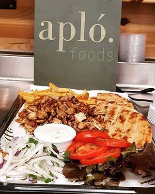 Αλέξιος Κιργιαννάκης, Apló Greek Kitchen & Foods στο Βερολίνο Γερμανία