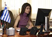 Δώρα Γιαννίτση, δ/ντρια Κέντρου Ελληνικού Πολιτισμού στην Μόσχα
