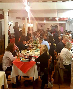 Karl Stafford, Simply Greek Tavern στο Newcastle της Αγγλίας