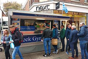 Greek Gyros Eatery & Εστιατόριο Islands Greek, Γιώργος Τάφας