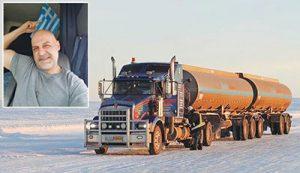 Τάσος Λάππας (The Iceman), οδηγός στον Καναδά