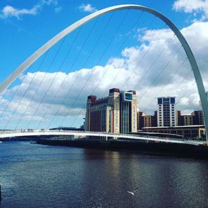 Newcastle upon Tyne της Αγγλίας