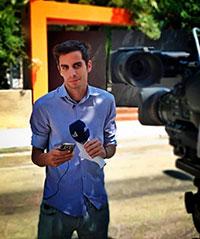 Θάνος Κλωνόπουλος Δημοσιογράφος ANT1