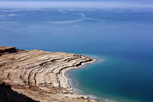 Dead Sea, Salt lake in Asia, Israel, Ισραήλ